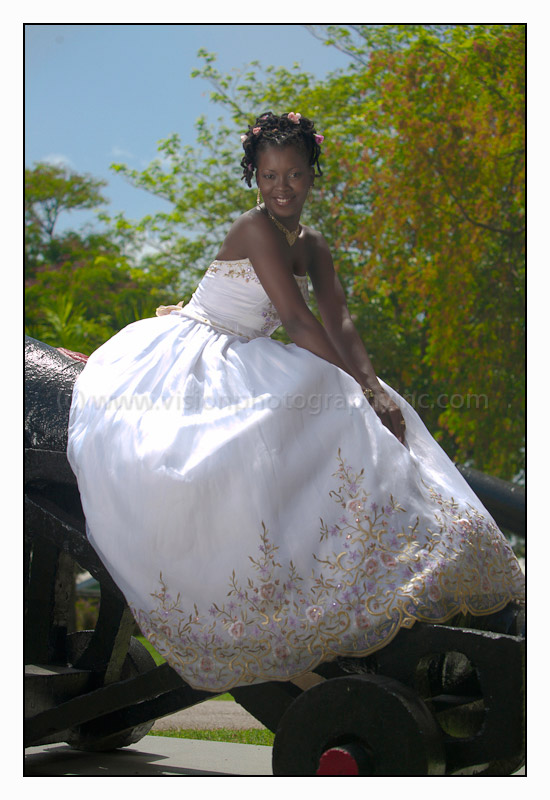 Bride on a Cannon