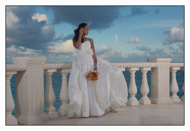 A Wind Swept Bride